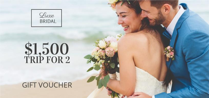 Elegant Wedding Gift Voucher Template