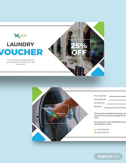 Sample Hotel Laundry Voucher