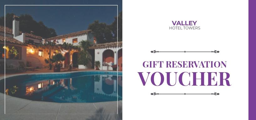 Hotel Reservation Voucher Template