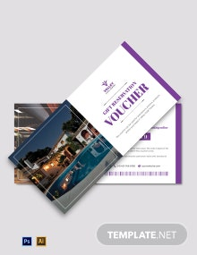 Hotel Reservation Voucher Template