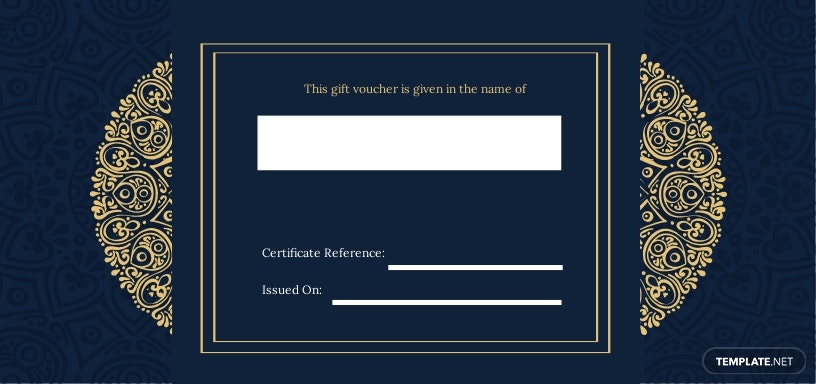 FREE Hotel Wedding Gift Voucher Template - Illustrator, Word, Apple Pages, PSD, Publisher