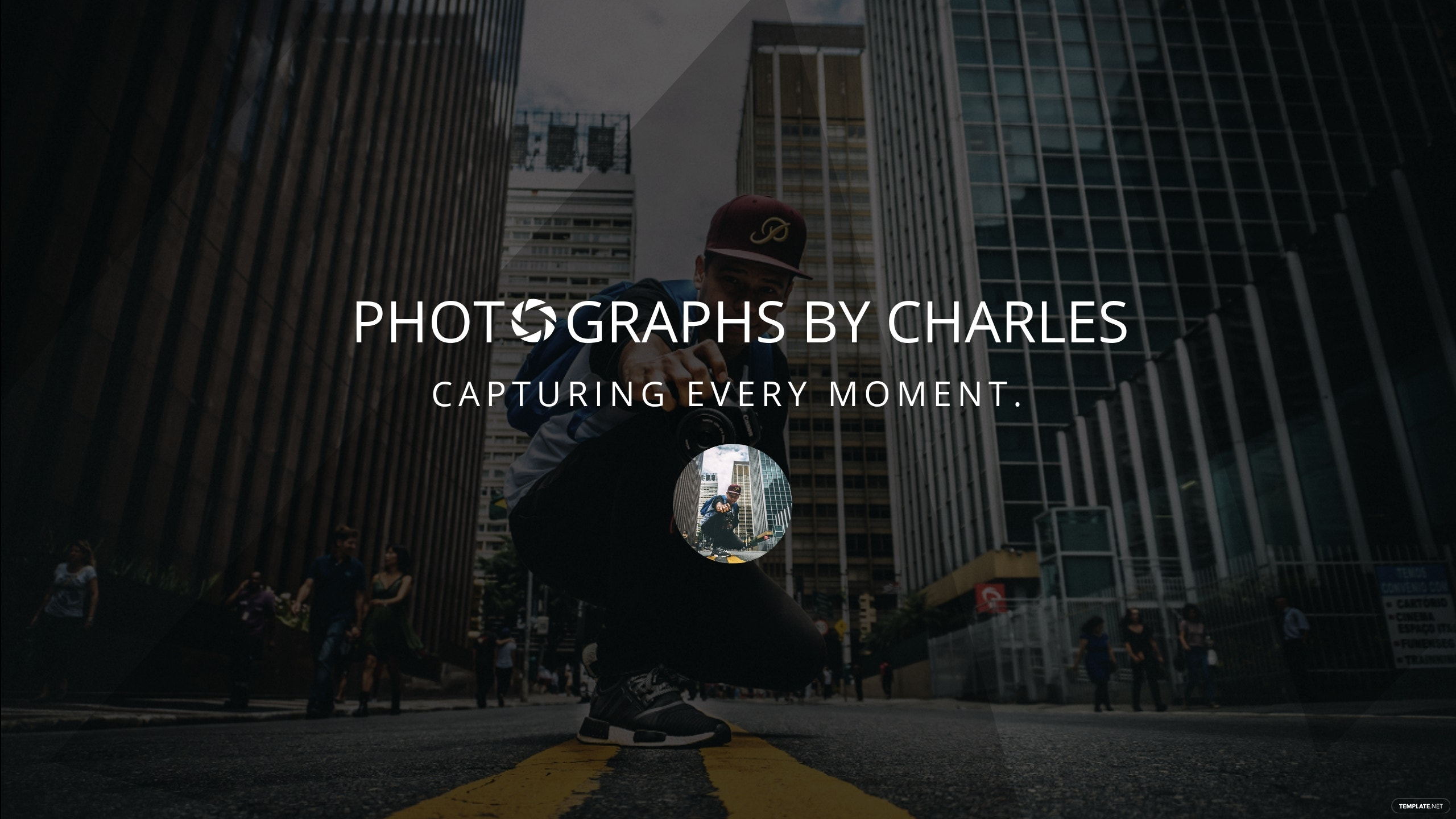 Free Photography YouTube Channel Template