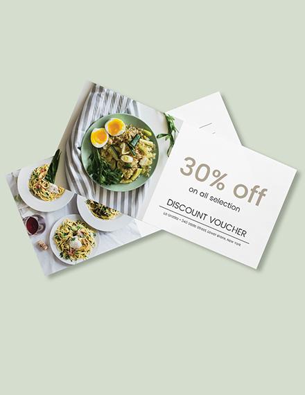 restaurant gift voucher card download