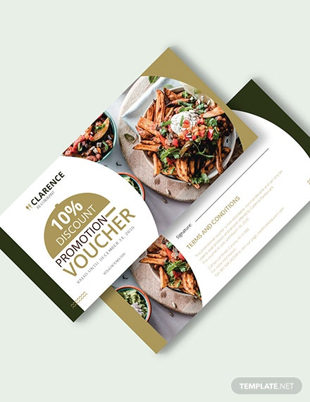 Restaurant Promotion Voucher Download