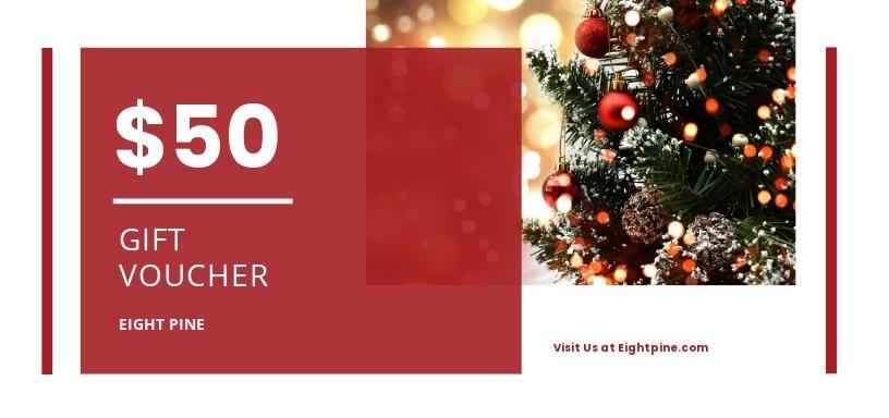 Sample Christmas Voucher Template