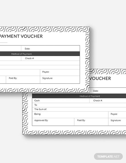 Sample Sample Payment Voucher