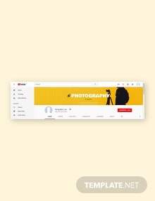 Free YouTube Channel Art Studio Template