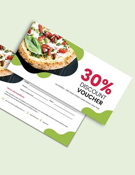 Sample Restaurant Voucher Download