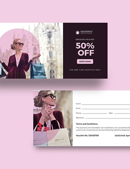Sample Sample Shopping Voucher