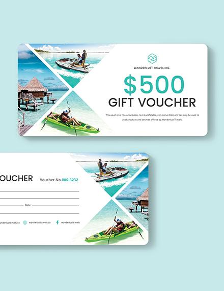 Sample Travel Voucher Download