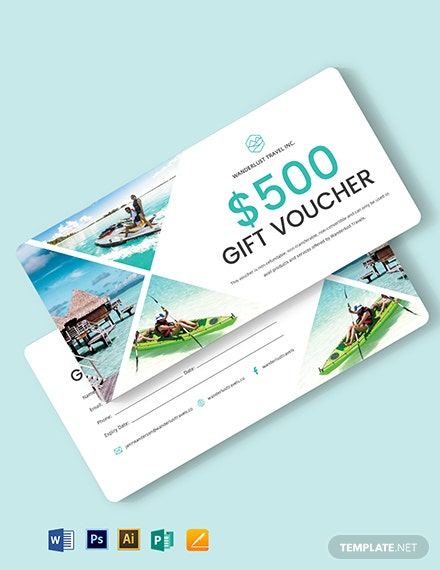 Sample Travel Voucher Template