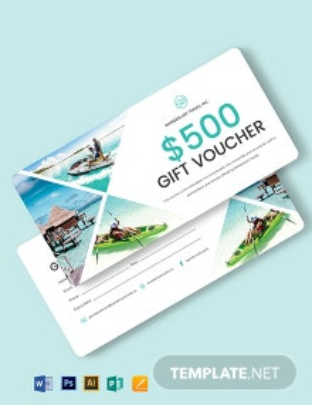 Sample Travel Voucher Template