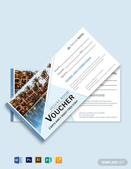 Printable Promotion Voucher Template