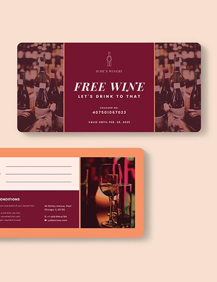 Private Wine Voucher Download