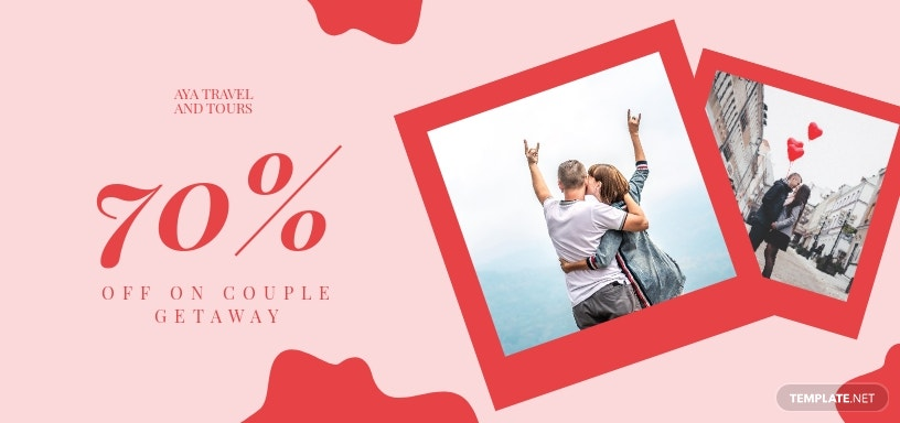 Romantic Getaway Voucher Template