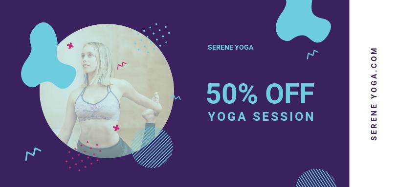 Yoga Voucher Template