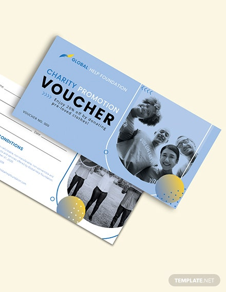 Charity Promotion Voucher Download