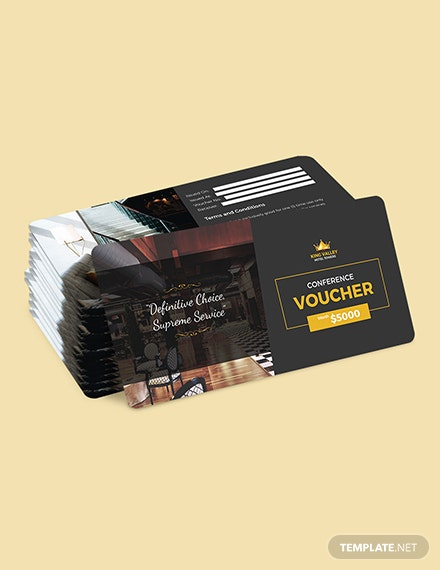 Sample Conference Hotel Voucher