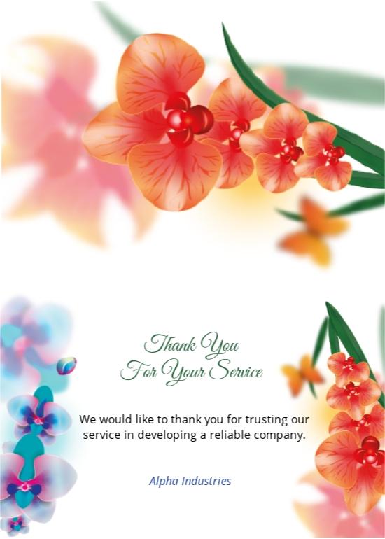 Free Bi fold Thank You Card Template 1.jpe