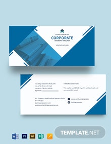 Corporate Discount Voucher Template
