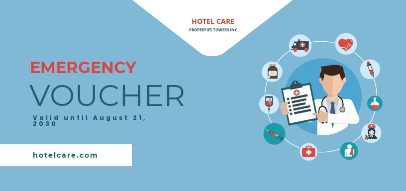 Emergency Hotel Voucher Template