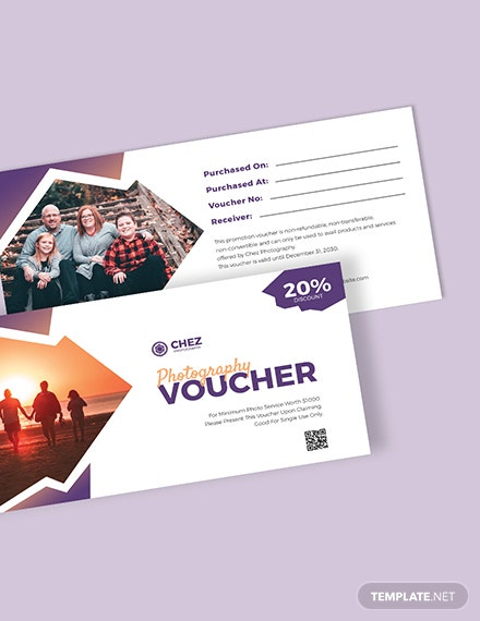 Family Photography Voucher Download
