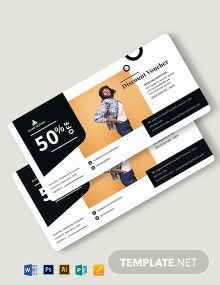 Generic Discount Voucher Template