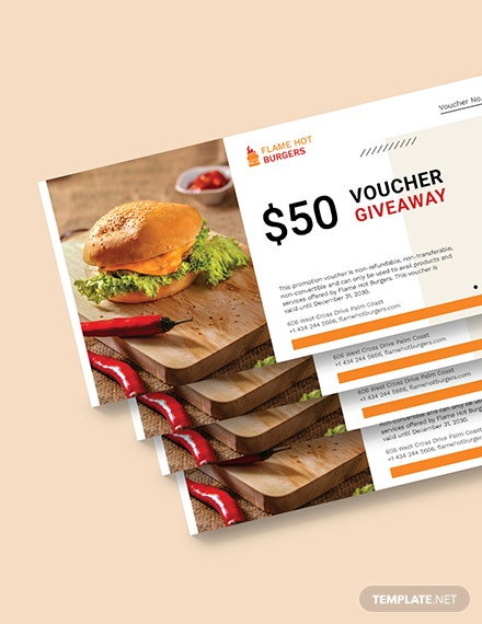 Giveaway Promotion Voucher Download