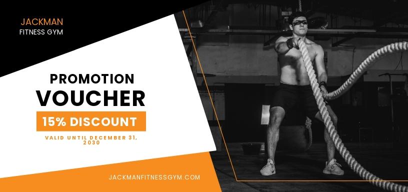 Gym Promotion Voucher Template.jpe