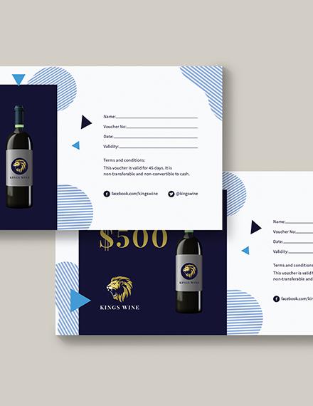 Sample Money Book Voucher
