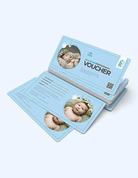 Sample Newborn Baby Photography Voucher