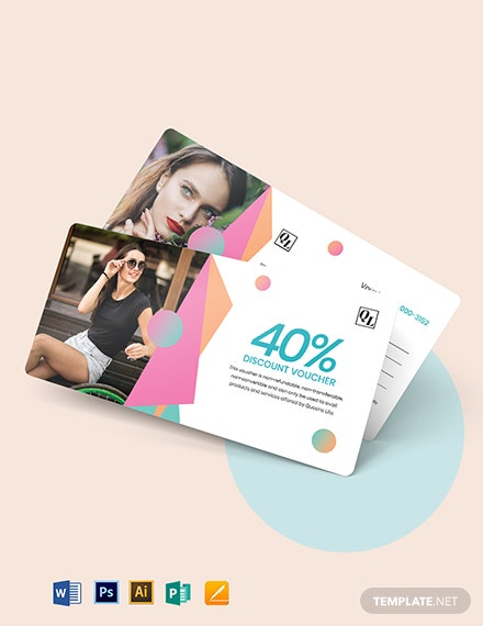 Printable Beauty Voucher Template