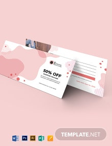 Printable Shopping Voucher Template