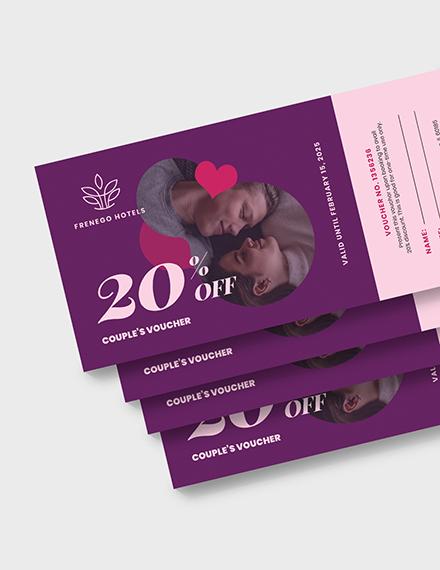Relationship Romantic Love Voucher Download
