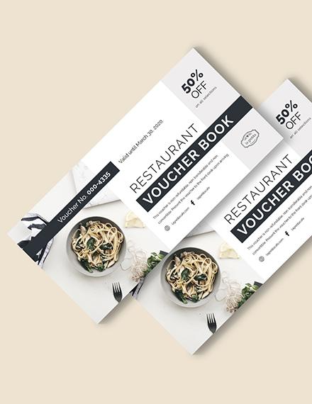 Restaurant Voucher Book Download