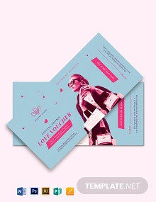 Romantic Love Voucher Template For Wife