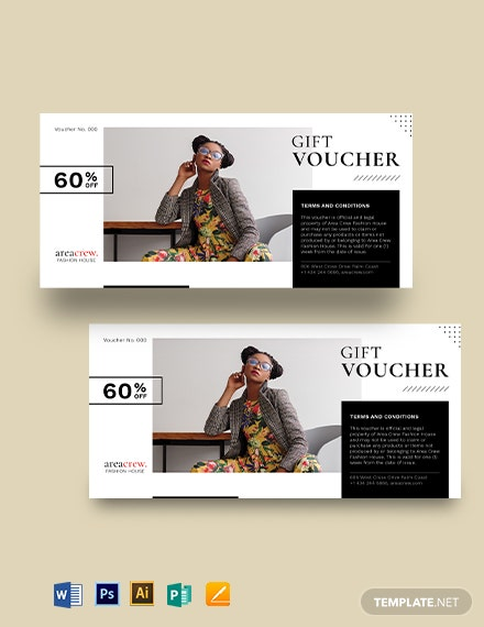 Sales Promotion Voucher Template