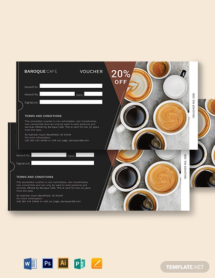 Sample Promotion Voucher Template