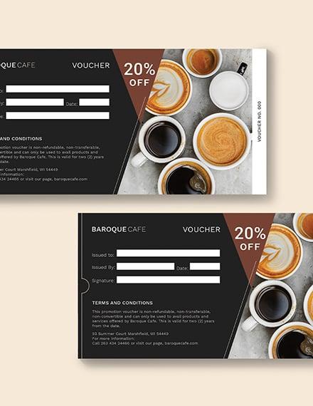 Sample Sample Promotion Voucher