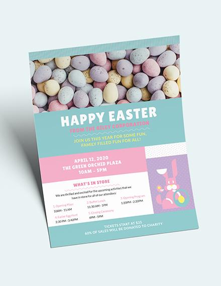 Easter Flyer Download