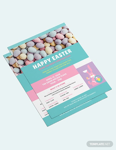 Sample Easter Flyer