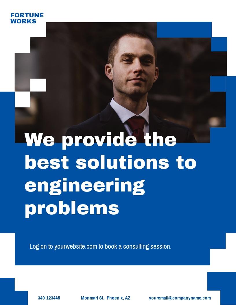 Engineering Consultants Flyer Template