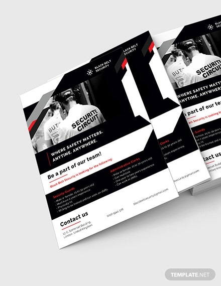 Security Guard Agency Flyer Download