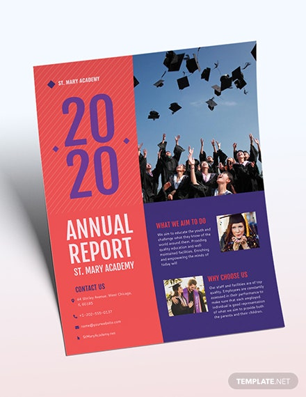 Annual Report Flyer Download