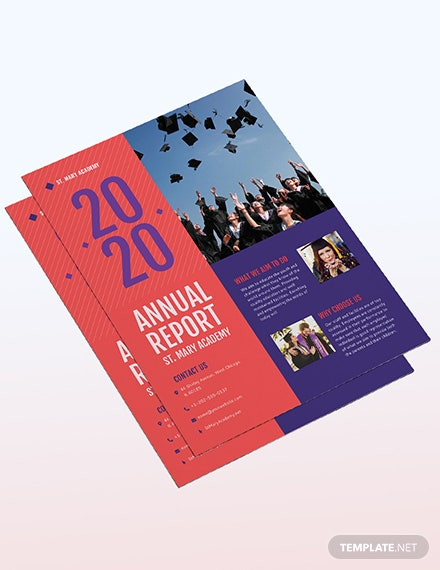 Sample Annual Report Flyer