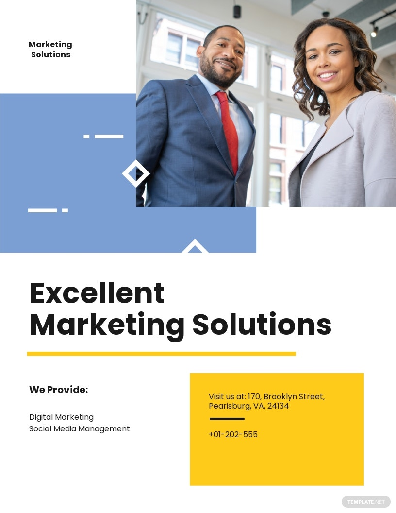 Business Proposal Flyer Template