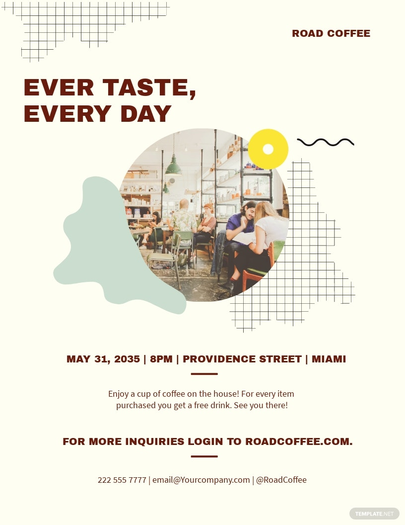 Cafe Flyer Template