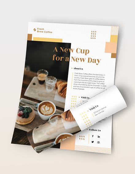 Coffee Shop Flyer Download