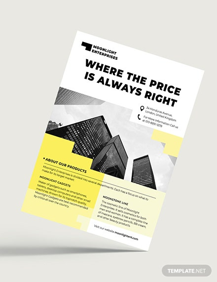 Commercial Flyer Download