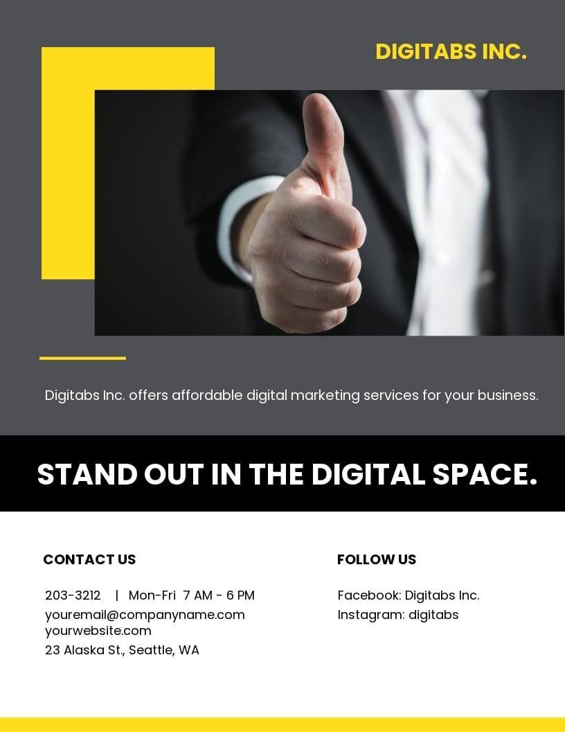 Company Annual Report Flyer Template.jpe